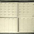 年間手帳は、学研ステイフルのツイン手帳(別々に上下が分かれている)が超おすすめ!